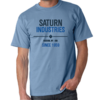 Saturn Industries Inc. Limited Edition Blue T-Shirt