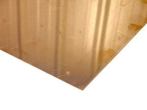 "Copper Alloy 110 Polished Sheet .032"" x 12""W x 12""L"