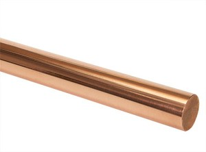 "C14500 Tellurium Copper Rod 1-3/4"" DIA x 12"" L"