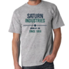 Saturn Industries Inc. Limited Edition Gray T-Shirt